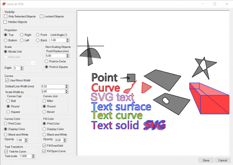 <p>Plug-in to export some Rhino 5 objects to SVG</p>