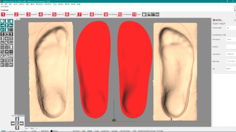 <p>LutraCAD is a newly developed and easy to use software for designing insoles and orthotics based on 2D and 3D scans. Free trial possible!</p>