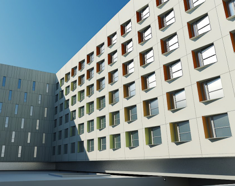 High Quality SkinDesigner Enables The Rapid Generation Of Facade Geometries From  Building Massing Surfaces And Repeating, User