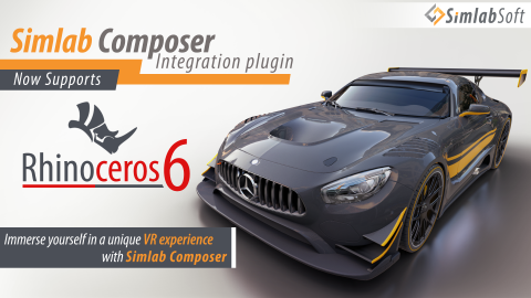 SimLab Composer integration plug-in for Rhino is a free tool that acts as a middle layer between Rhino and SimLab Composer app.