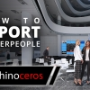 In this video tutorial we will show you how to quickly and easily import Renderpeople 3D People into your Rhino scenes.