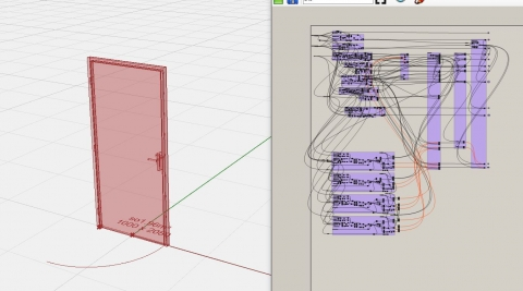 """Definition of a door style named """"+-BP-Gen01(ChampPlat).gh"""" include in """"5 doors styles for VArq2 in rhino 6"""""""