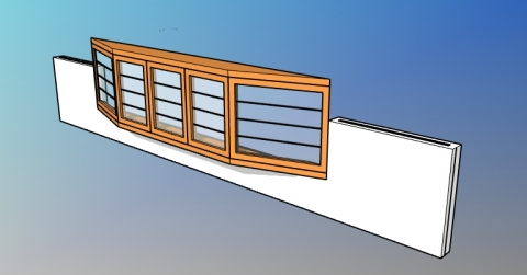 Parametric bay window style for VisualARQ