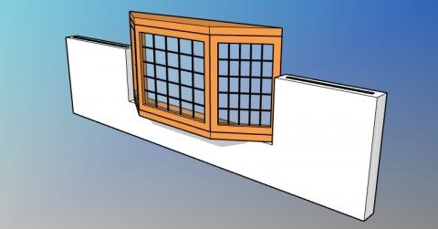 Parametric bay window style for VisualARQ