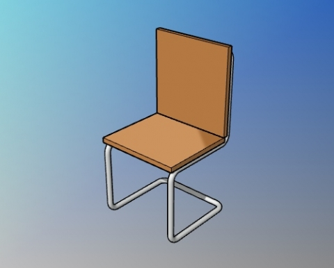 Parametric breuer chair style for VisualARQ