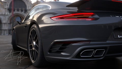 Master curvature grade surfacing without plug-ins with this fully illustrated step by step guide to model a Porsche 911.