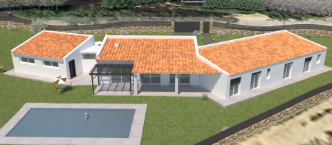 3D roof for grasshopper and visualarq
