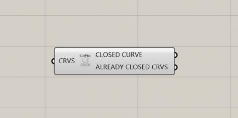 Cluster to let you turn any curve closed.