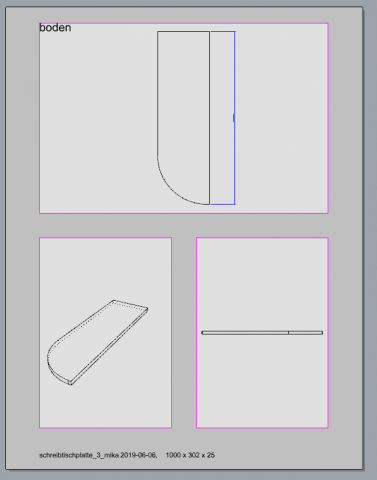 This program creates details from one or more objects in a new