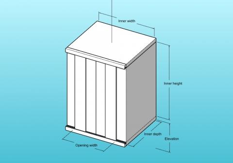 Parametric single door lift for VisualARQ