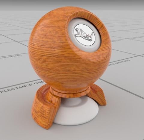 physically based wood 1
