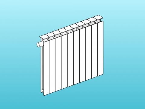 Wall radiator