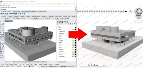 From big apps to small utilities, we can find the best solution for your case. Solutions based on Rhino, AutoCAD, Revit or other ones.