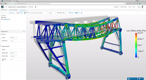 SimScale is a cloud-based engineering simulation platform for CFD, FEA, and thermal analysis, transforming the way engineers design their products.