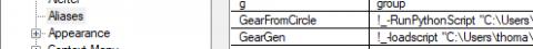 The original GearGen script generator translated to Python