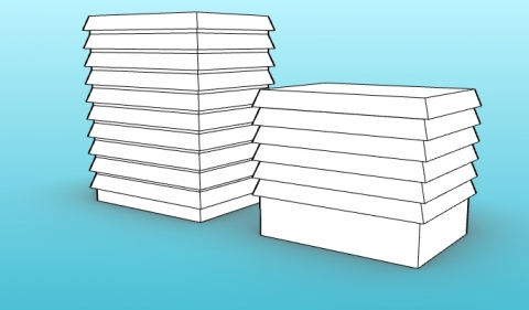 Parametric Steel Chimney Cap for VisualARQ