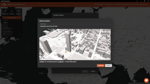Studio 3DX is a Cloud BIM and GIS software developed by Parametricos. Geolocate your IFC models in an organised structure and collaborate in real-time