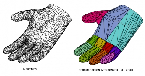 Convex Mesh Builder is a plugin that allows the creation of convex hull meshes in Rhino.