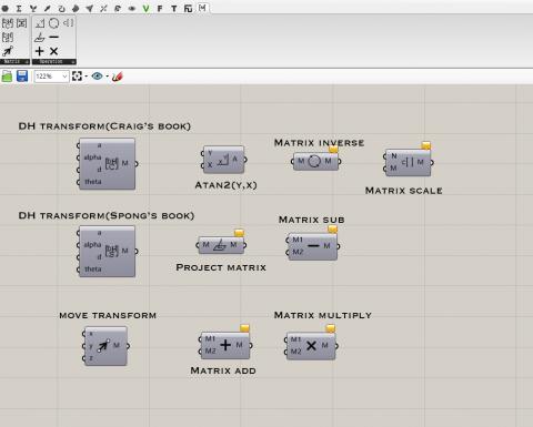 A toolbox for matrix algebra and robot.
