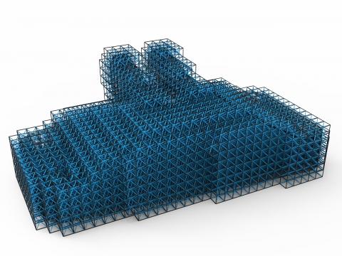 Lattice structure tools for Grasshopper3D