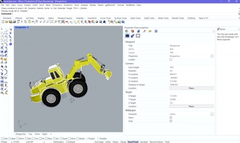 Imports 25+ CAD formats in Rhinoceros. SOLIDWORKS, CATIA, NX, Creo, JT, STEP, STL and other formats.