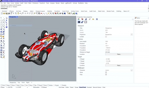 Imports 30+ CAD formats in Rhinoceros. SOLIDWORKS, CATIA, NX, Creo, JT, STEP, STL and other formats.