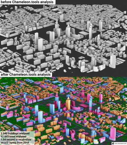 Real-time analysis for architecture and urban planning.  Automate design workflow with instant calculations and Excel® synchronization.