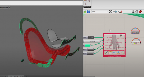 Set of useful tools to draw and annotate on Rhino and Grasshopper geometries