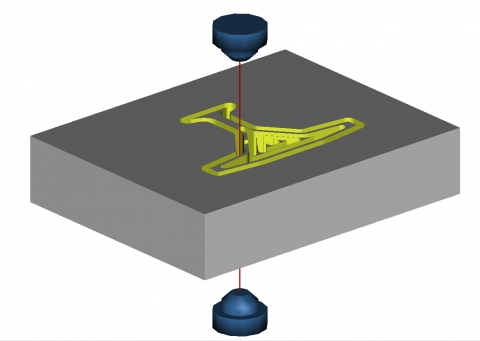 The Rhinoceros solution for EDM and cutting toolpath