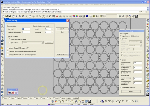 Software for layout optimization of 2D and 3D geometries for all kind of shapes