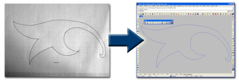 Raster to Vector converter available for Rhinoceros