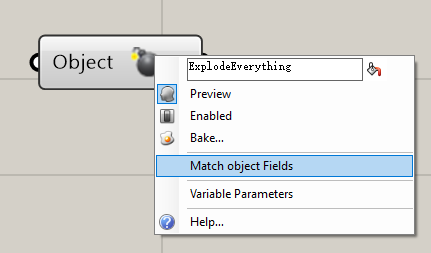 ExplodeAnything explodes any object you feed in, reveal any public fields/properties, no matter it
