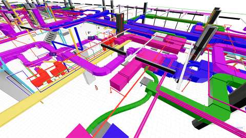 """View construction drawings and models in augmented reality with 3mm (1/8"""") precision"""