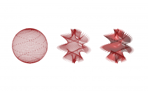 Funnel-web is a membrane simulation tool for use in artistic design.