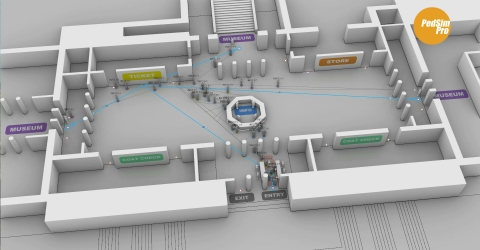 Advanced pedestrian simulation plug-in for Rhino and Grasshopper.