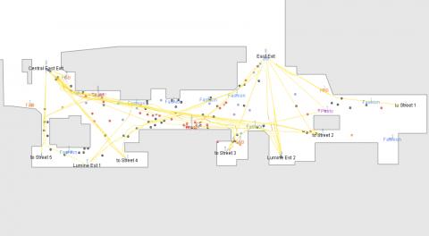 PedSim is the most popular pedestrian simulation plug-in in Grasshopper.