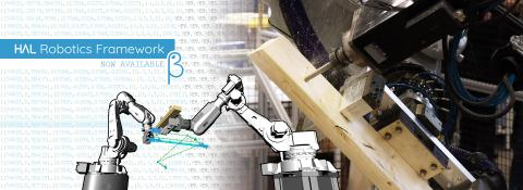 The HAL Robotics Framework provides powerful tools to model, program, simulate and control industrial machinery directly from McNeel products.