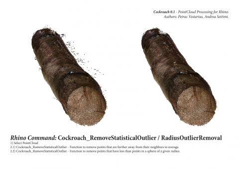Cockroach is a tool for PointCloud processing.