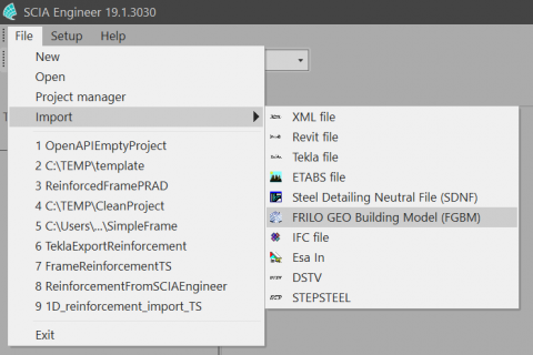 Grasshopper plugin which converts Karamba3D model to SCIA Engineer model