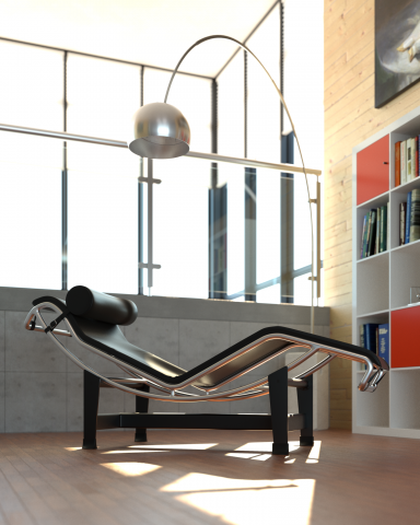 Bella is a physically-based spectral renderer that combines remarkable realism with ease of use.