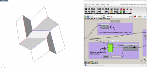 Crane is a Grasshopper plugin to design origami products. This software focuses on design, rigid folding simulation, form-finding, and fabrication.