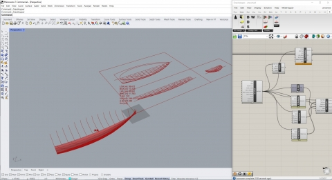 Free Grasshopper plugin for naval architecture and marine industry.