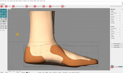 <p>LutraCAD is an easy and intuitive software for designing shoe lasts.</p>