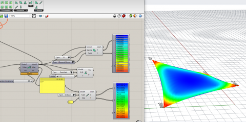 BATS is a grasshopper plug-in for design and analysis of taut structures and is WIP.