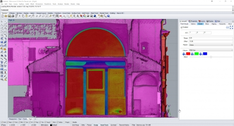 Load point clouds of any size from any source, exploit and create geometry and export for use in other applications.