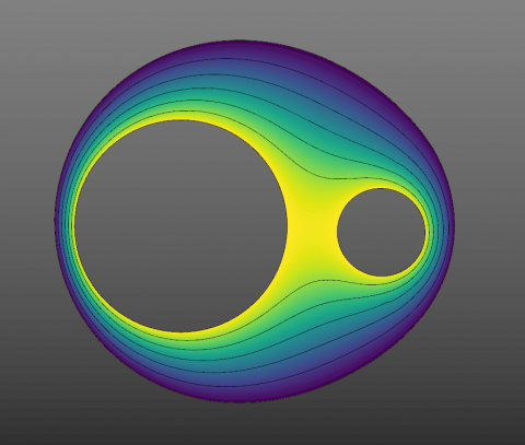 This package lets you tween between two or more (!) curves without any overlaps / undercuts. It has its own powerful tween curve editor & fish eye.