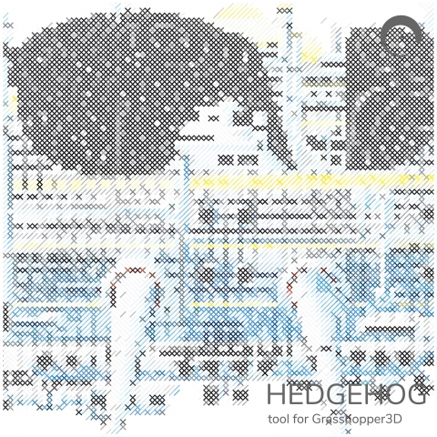 Hedgehog is image processing tool for Grasshopper3D.