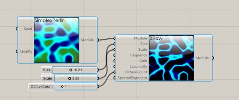 Tundra is a one stop grasshopper plugin for generating complex noise patterns.
