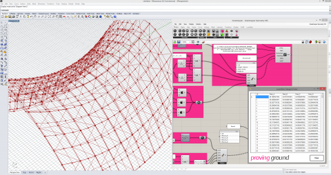 LunchBox is a plug-in for Grasshopper for exploring machine learning, mathematical shapes, paneling, structures, and workflow.