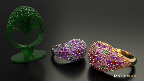 The most complete and powerful CAD software for 3D jewelry design
